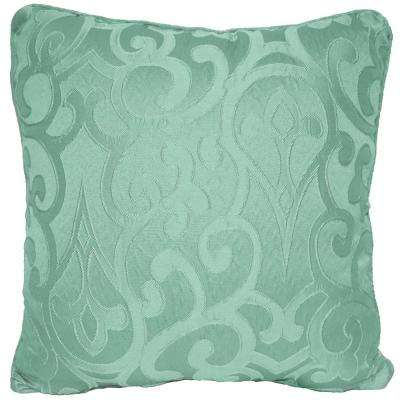 Erin Turquoise Standard Decorative Pillow