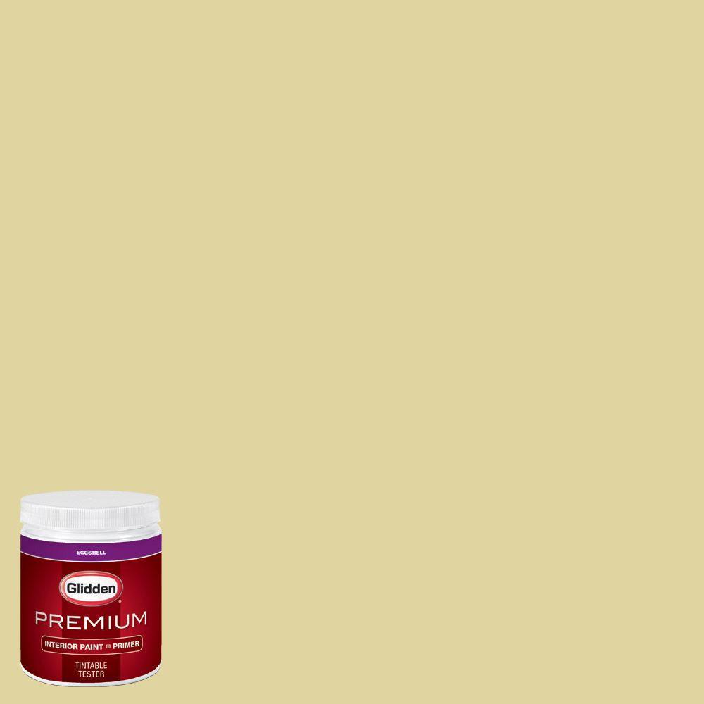 Glidden Bathroom Paint: Glidden Premium 8 Oz. #HDGG06 Spring Willow Green Eggshell