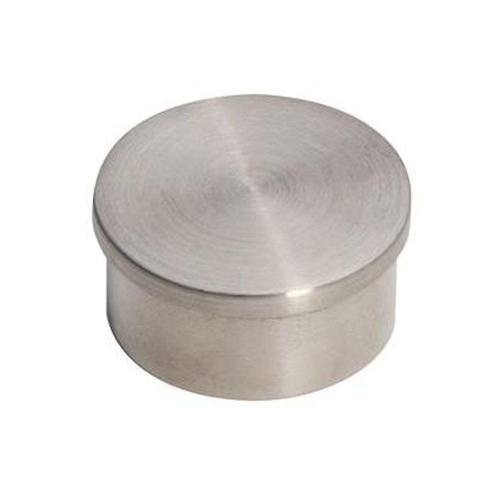 Lido Designs Stainless Steel Flush End Cap For 1 2 In O D