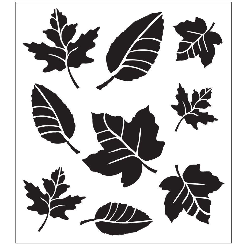 Leaf Variety Painting Stencils