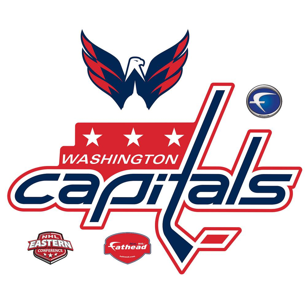36 in. H x 53 in W Washington Capitals Logo Wall