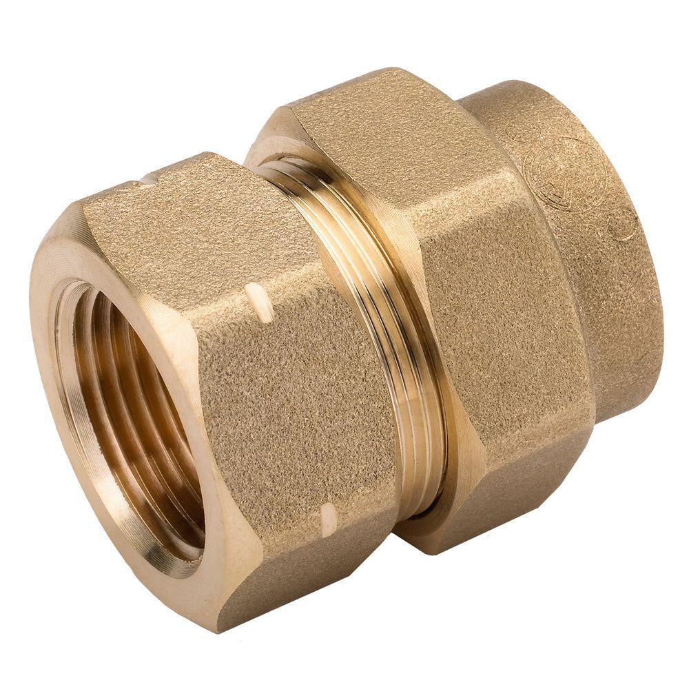 3/4 in. Brass CSST x FIPT Female Adapter