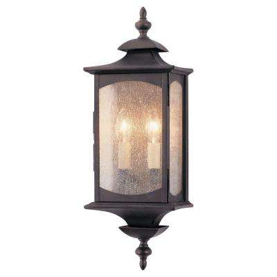Market Square 2-Light Oil Rubbed Bronze Outdoor Wall Fixture