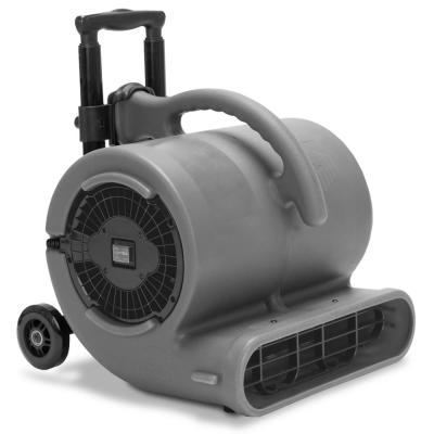1/2 HP Air Mover for Janitorial Water Damage Restoration Stackable Carpet Dryer Floor Blower Fan with Handle Grey