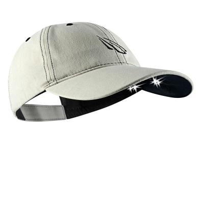 Baseball  Hat with 5 LED Lights For All Outdoor Activity~  Free  Shipping
