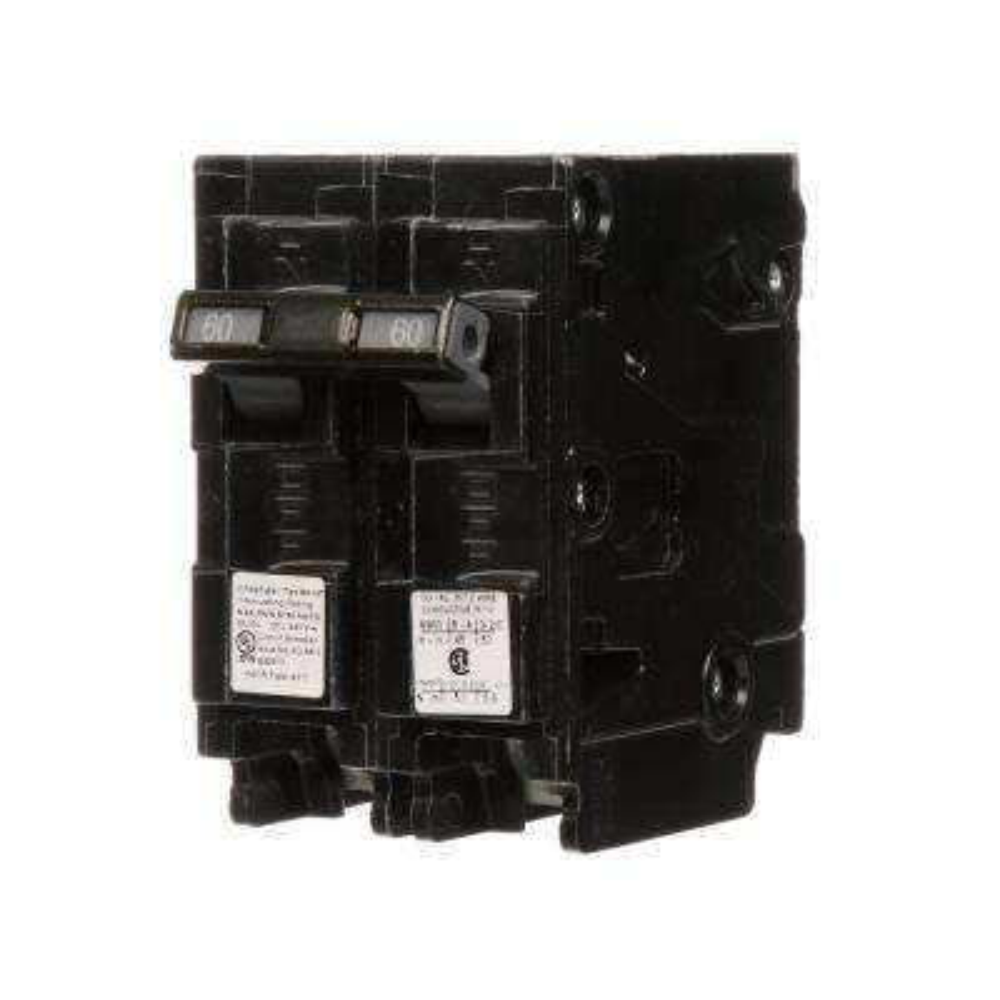 60 Amp Double-Pole Type MP-MT 65K Circuit Breaker
