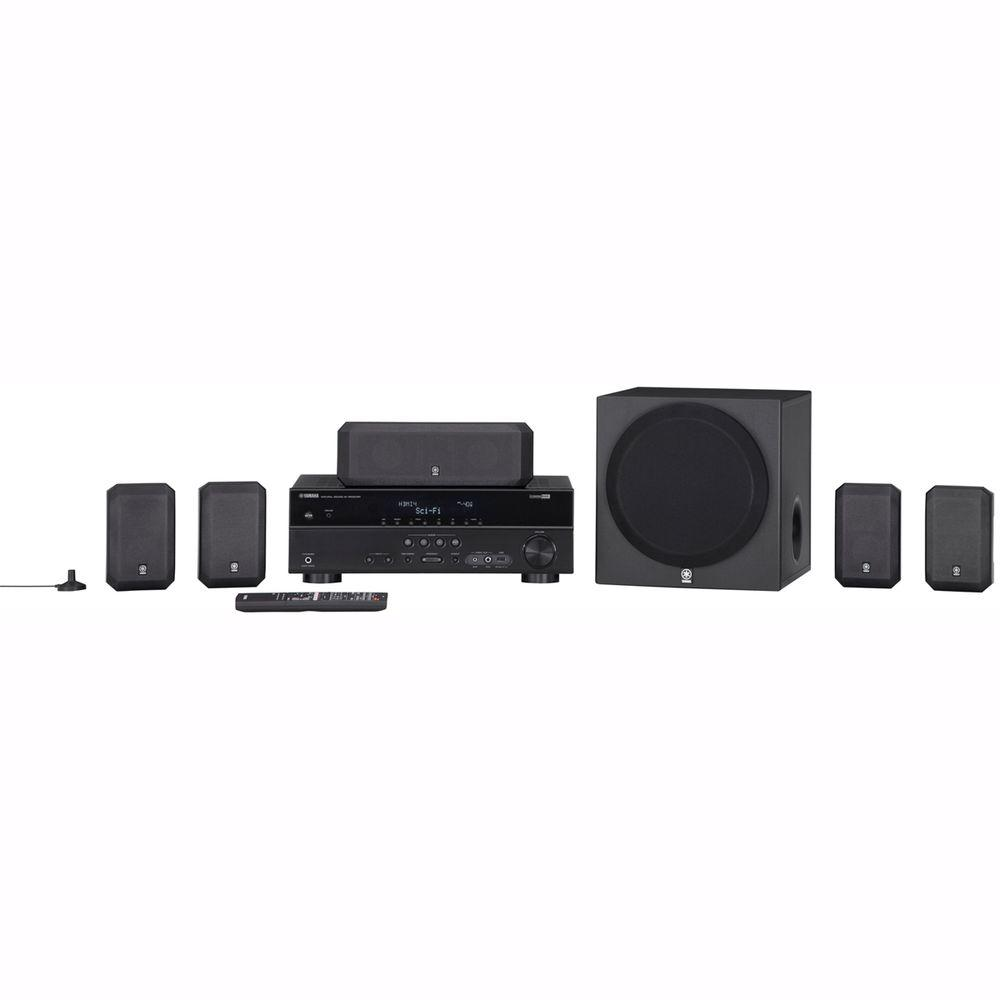 Yamaha 5.1 Channel 600 Watts 3D-Ready Home Theater System with HDMI-DISCONTINUED