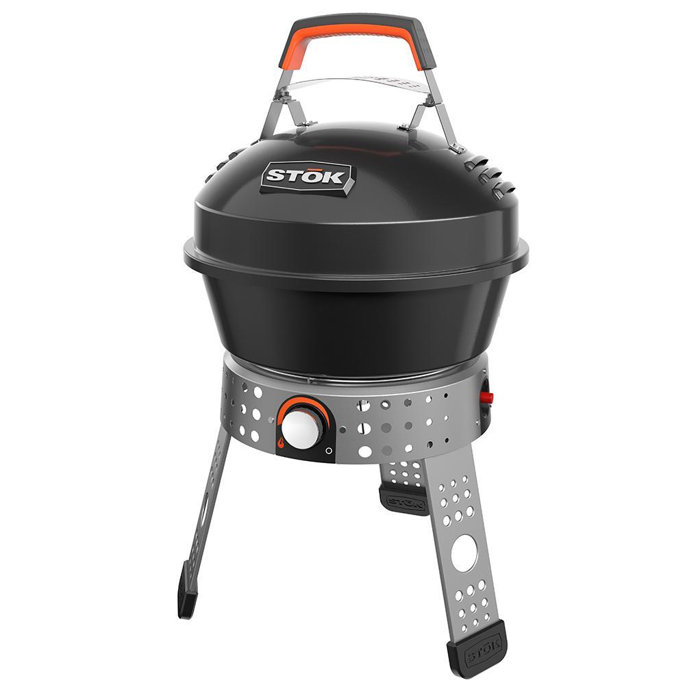 STOK Tourist 104 sq. in. Single Burner Portable Propane Gas Grill
