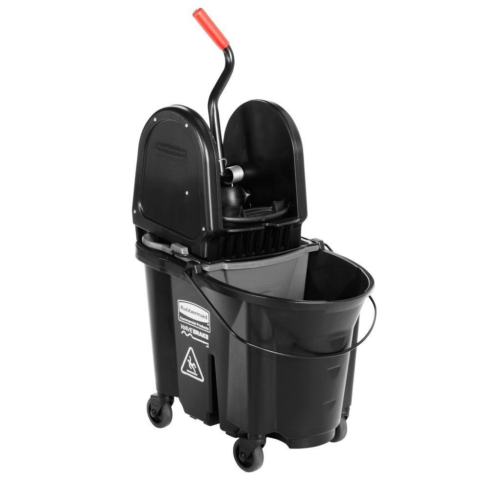 Executive Series 35 Qt. WaveBrake Down Press and Dirty Water Bucket