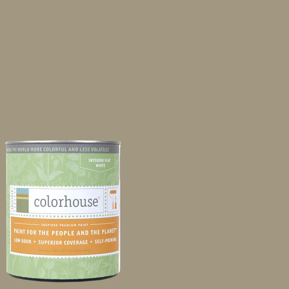 1 qt. Nourish .04 Flat Interior Paint