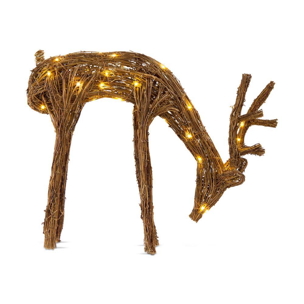 vine light up deer stag