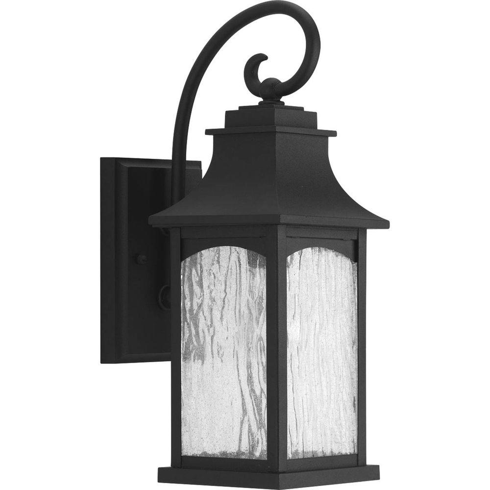 Home Lighting Collections: Progress Lighting Maison Collection 1-Light Black Outdoor