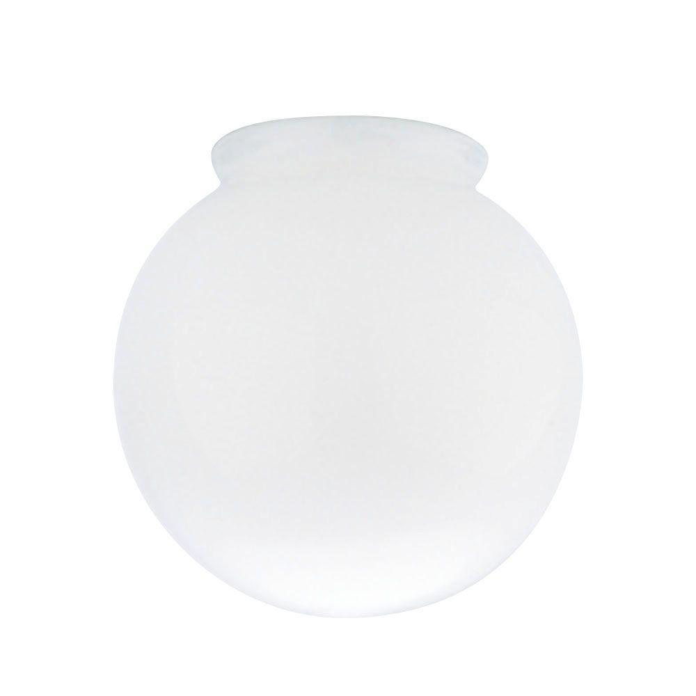 Westinghouse 6 in. Handblown Opal Globe with 3-1/4 in. Fi...