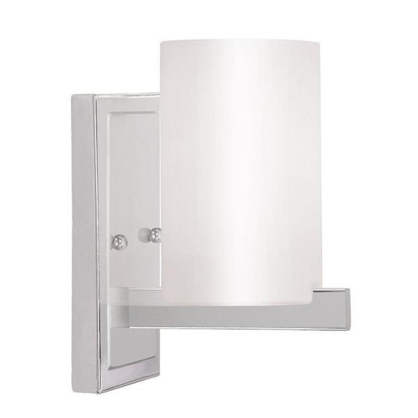 Astoria 1-Light Chrome Wall Sconce