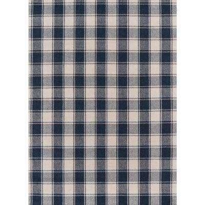 Charles Navy 3 Ft 6 In X 5 Accent
