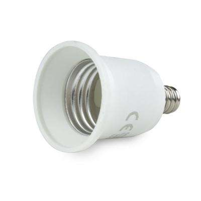 E17 to Medium Base (E17 to E26) Lamp Adapter