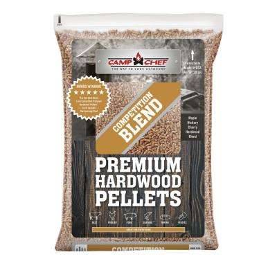 Competition Blend Premium Hardwood BBQ Pellets