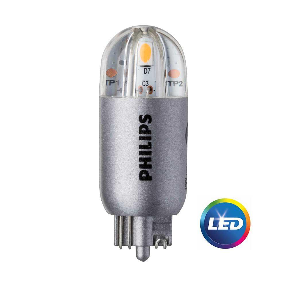 7W Equivalent Wedge-Capsule T5 3,000K LED Light Bulb (2-Pack)
