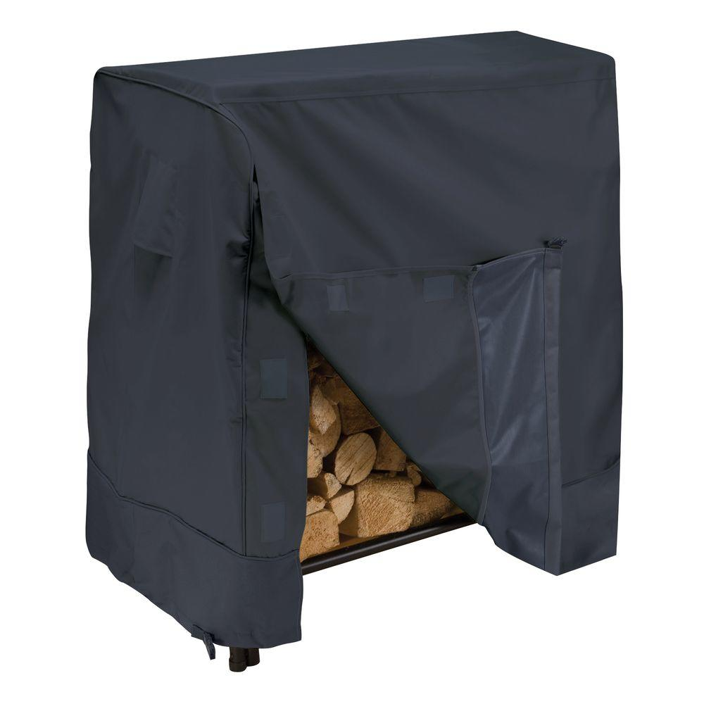 Classic Accessories 4 ft. Firewood Log Rack Cover