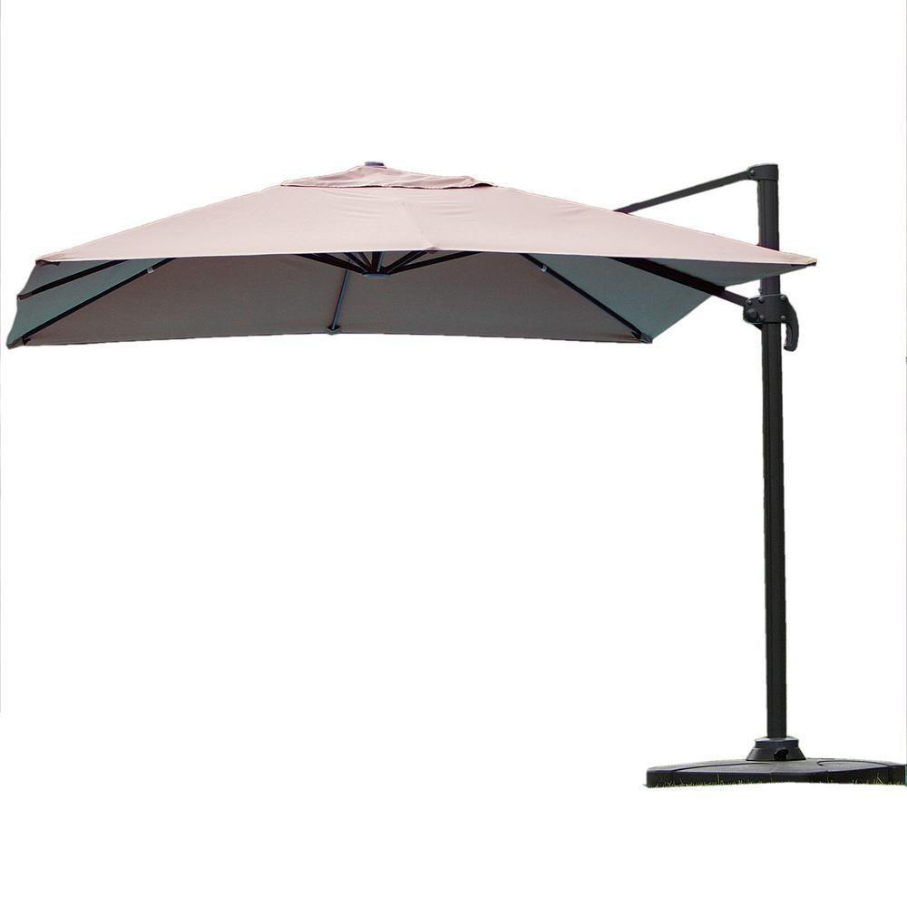 Rectangular Market Umbrellas Patio Umbrellas The Home Depot