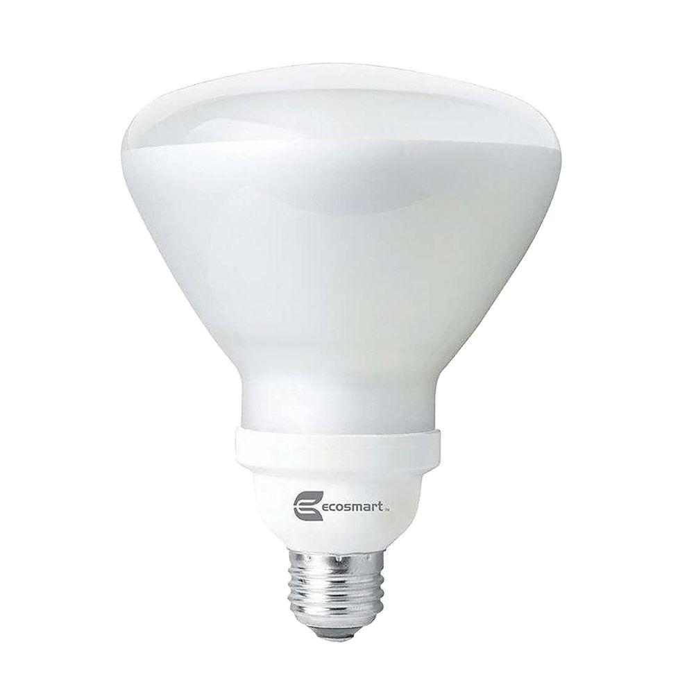 120W Equivalent Soft White BR40 CFL Light Bulb (2-Pack)