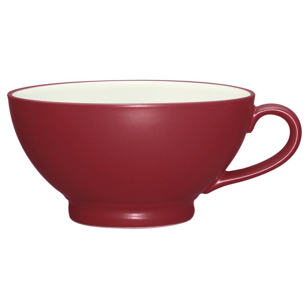 Noritake Colorwave 18 oz. Raspberry Handled Bowl 8045-411