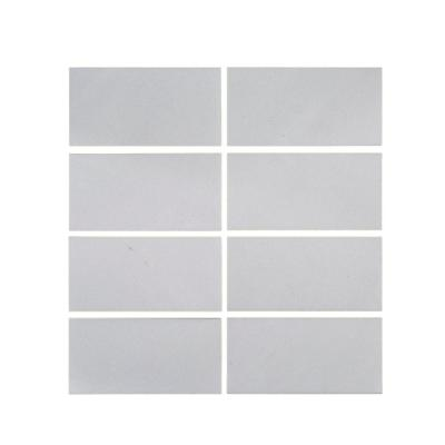 Thassos White 3 in. x 6 in. Polished Marble Floor and Wall Tile (1 sq. ft./Pack)