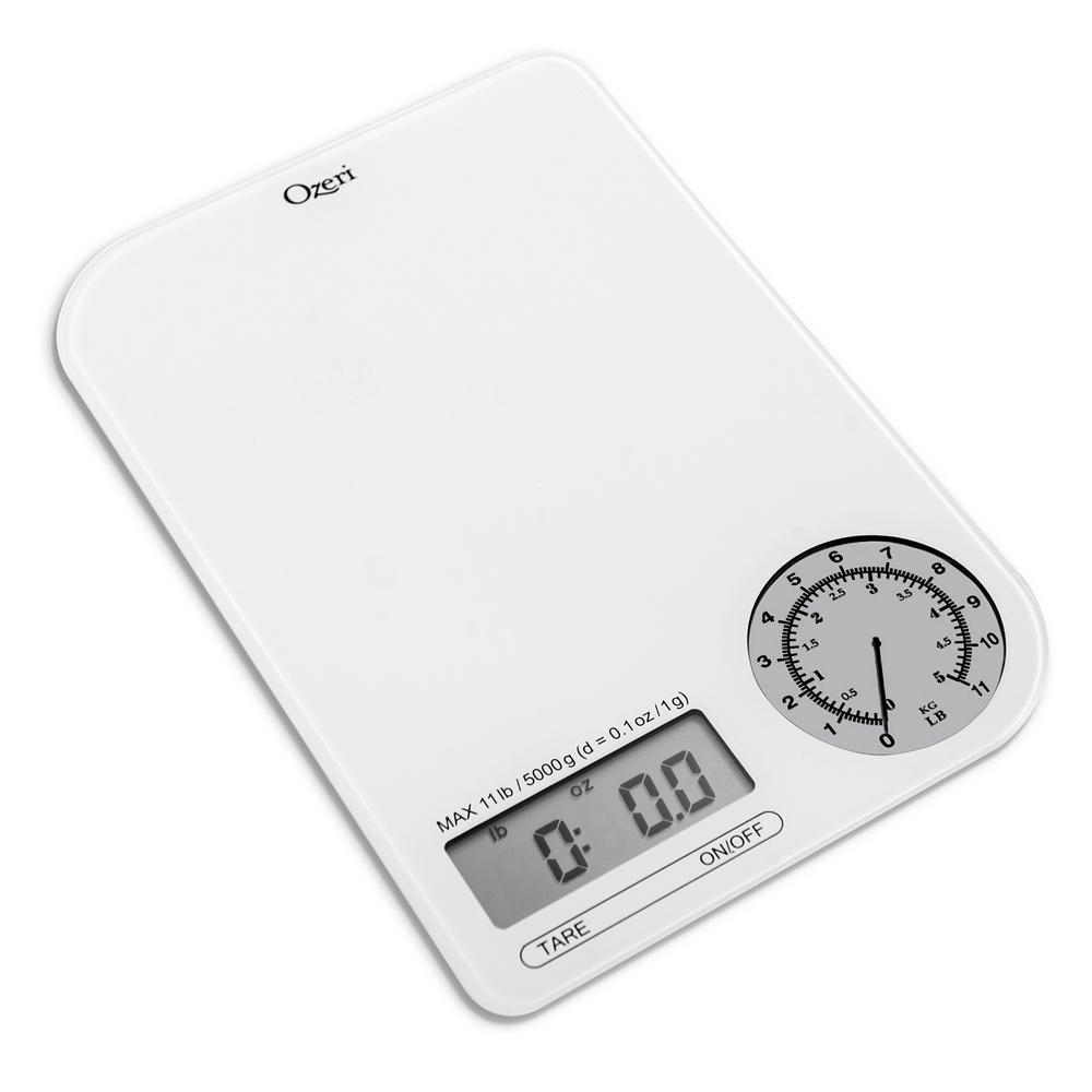 ozeri rev digital kitchen scale with electro mechanical. Black Bedroom Furniture Sets. Home Design Ideas
