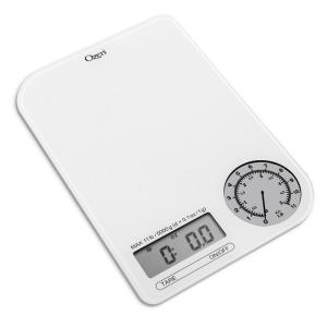 Click here to buy Ozeri Rev Digital Kitchen Scale with Electro-Mechanical Weight Dial by Ozeri.