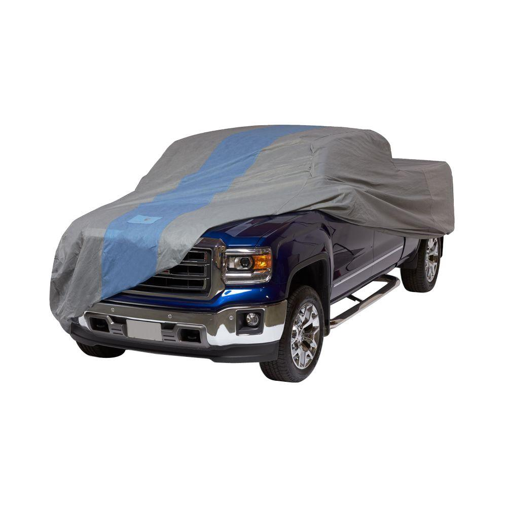 Defender Extended Cab Standard Bed Semi-Custom Pickup Truck Cover Fits up