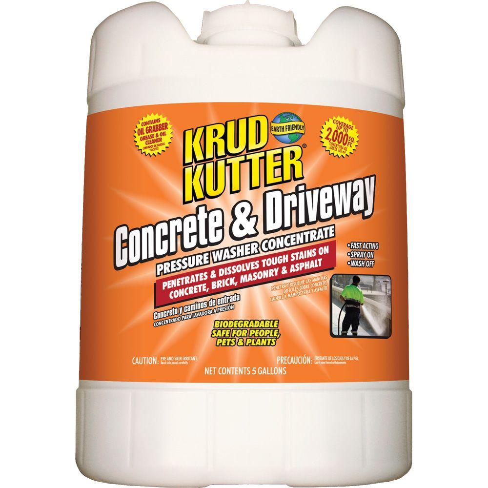 Krud Kutter 5 gal. Concrete and Driveway Pressure Washer Concentrate