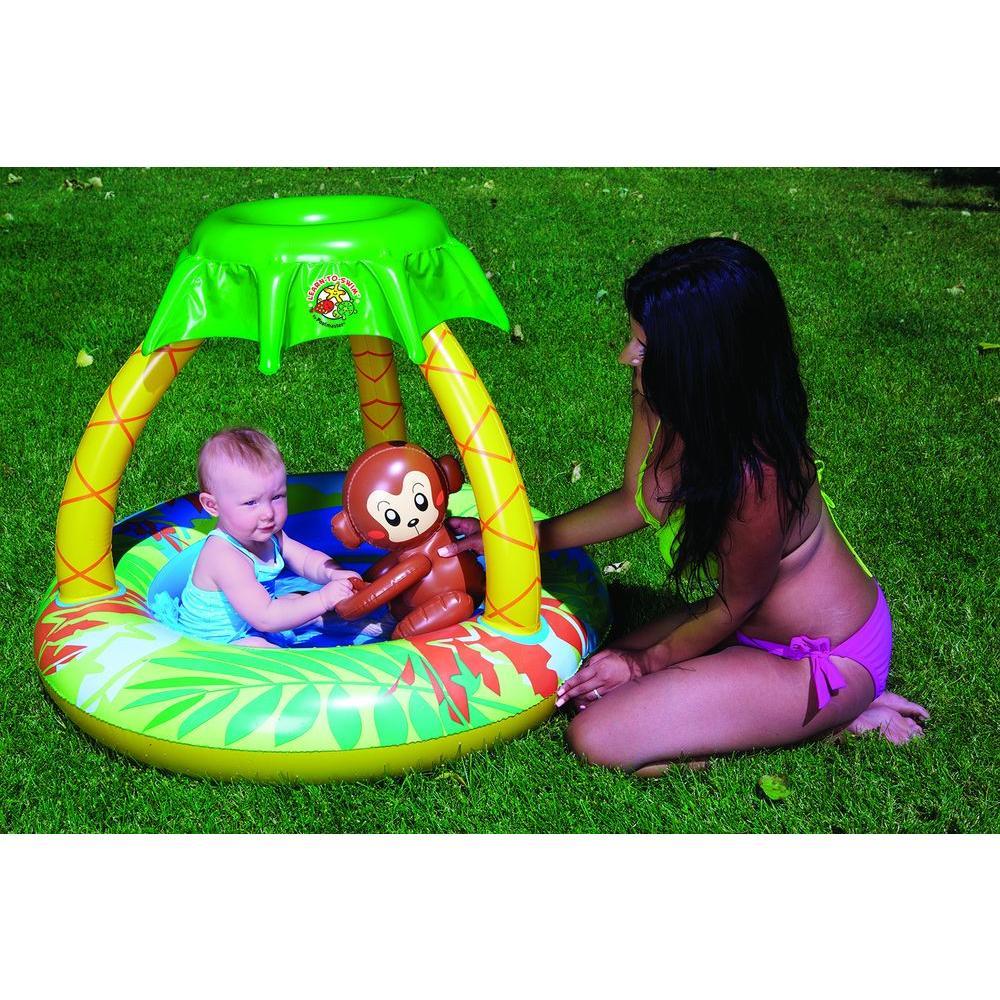 Go Bananas Monkey Inflatable Kiddie Pool