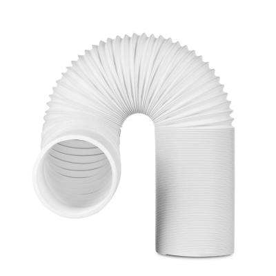 5 in  6 5 ft  Insulated Flexible Exhaust Hose for Portable Air Conditioner,  Counter-Clockwise
