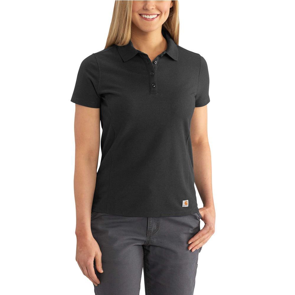 Carhartt Womens Contractors Short Sleeve Work Polo