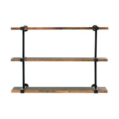Studio 40 in. W Wood Craft Wall Shelf