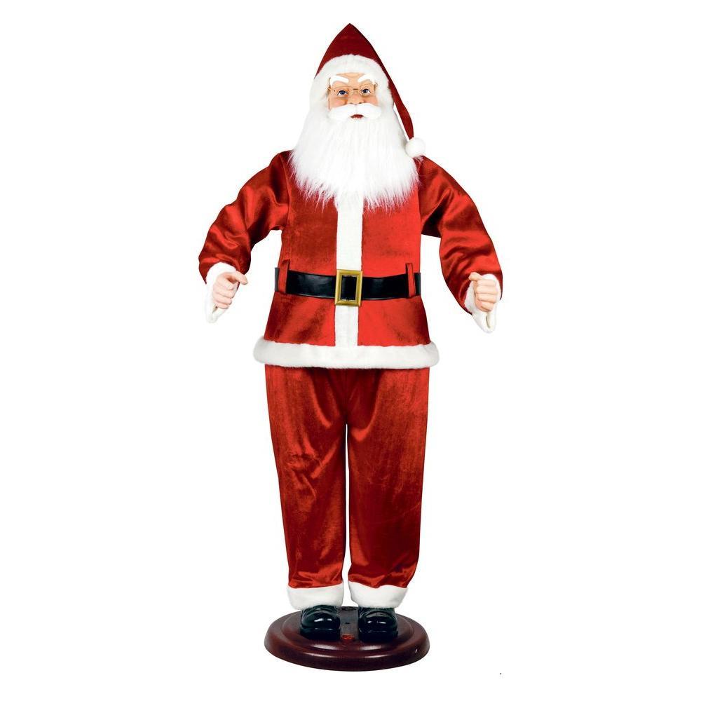 72 in. Animated Dancing Santa