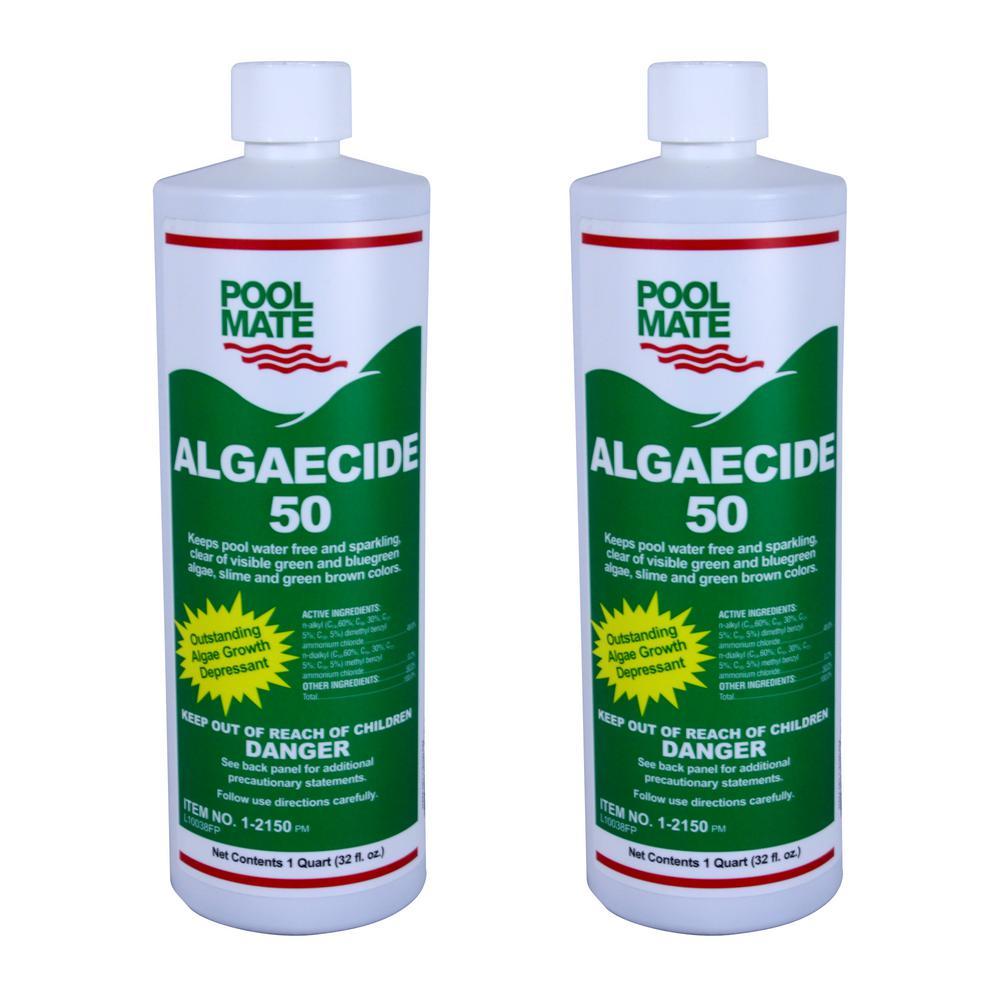 1 qt. Pool Algaecide 50 2-Pack