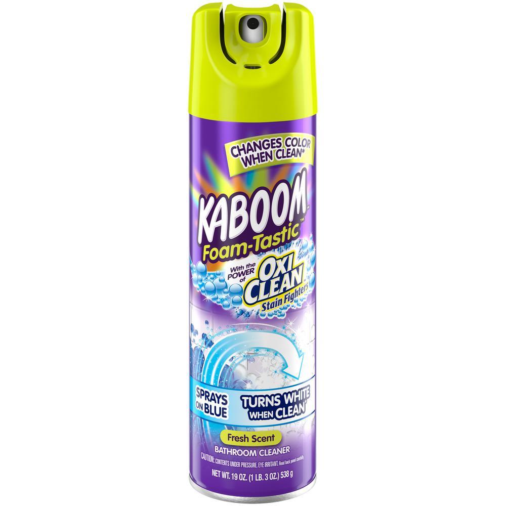 19 oz. Foam-Tastic Fresh Bathroom Cleaner with OxiClean
