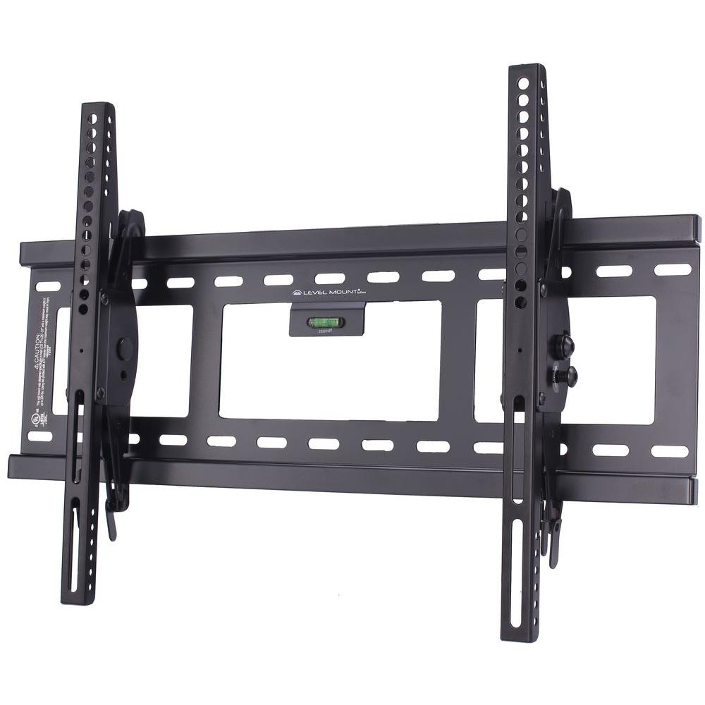 level mount tiltable vesa tv wall mount for 37 in 100 in tvs he600ft the home depot. Black Bedroom Furniture Sets. Home Design Ideas
