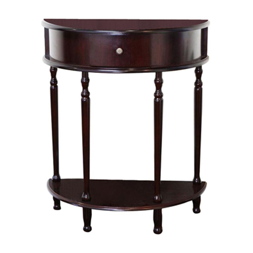 Megahome Cherry Storage End Table