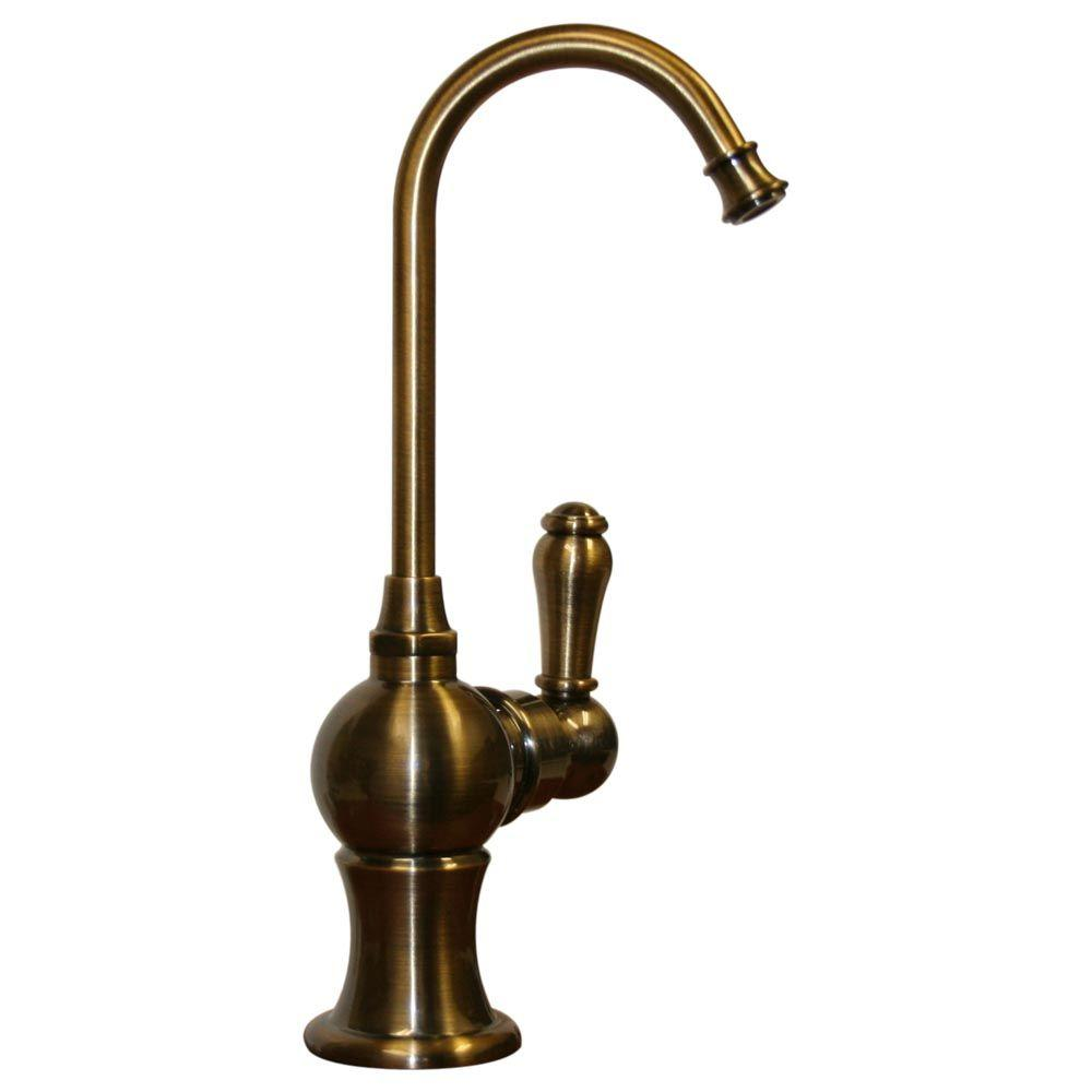 Whitehaus Collection Single-Handle Water Dispenser Faucet in Antique ...