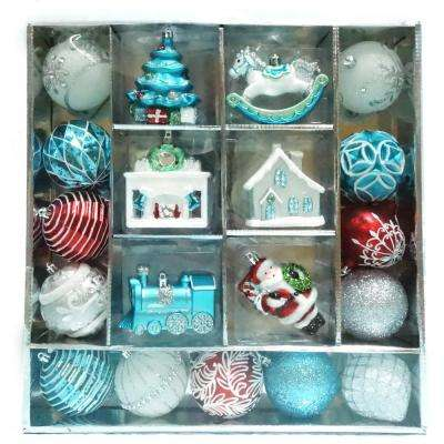 Christmas Morning Ornament Set (19-Count)