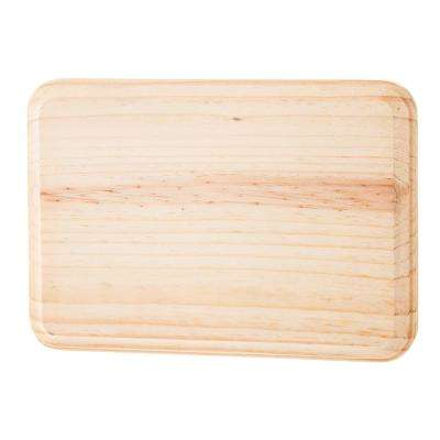 5 in. x 7 in. Rectangle Pinewood Plaque