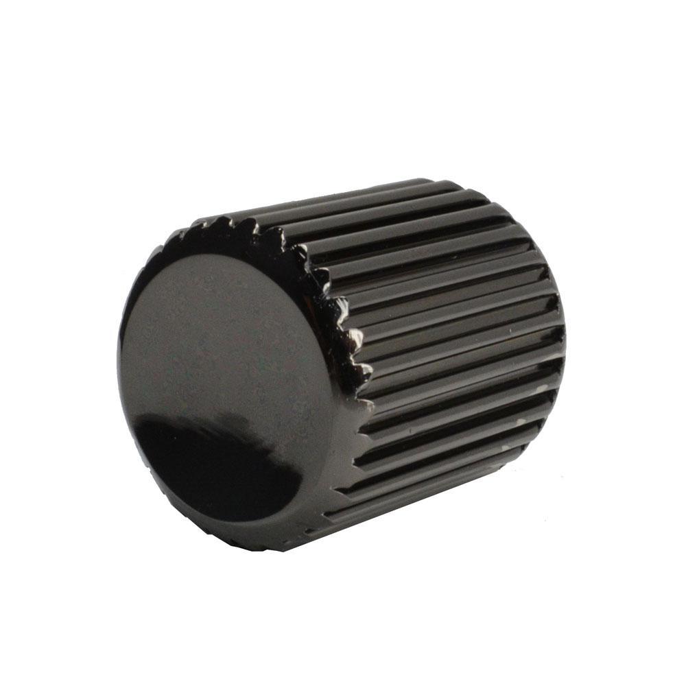 Calvini 1 in. Black Nickel Cabinet Knob