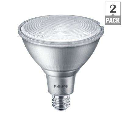 90-Watt Equivalent PAR38 Dimmable LED Classic Glass Energy Star Flood Bright White (3000K) (2-Pack)