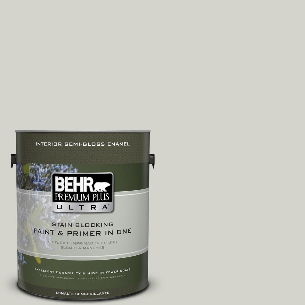 1 gal. #PPU25-10 Soft Secret Semi-Gloss Enamel Interior Paint