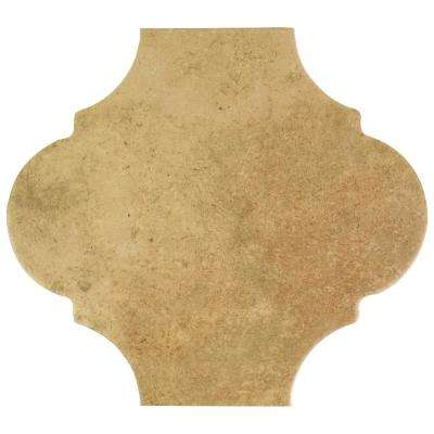 Fusion Provenzal Sand 10-3/8 in. x 11-3/8 in. Porcelain Floor and Wall Tile