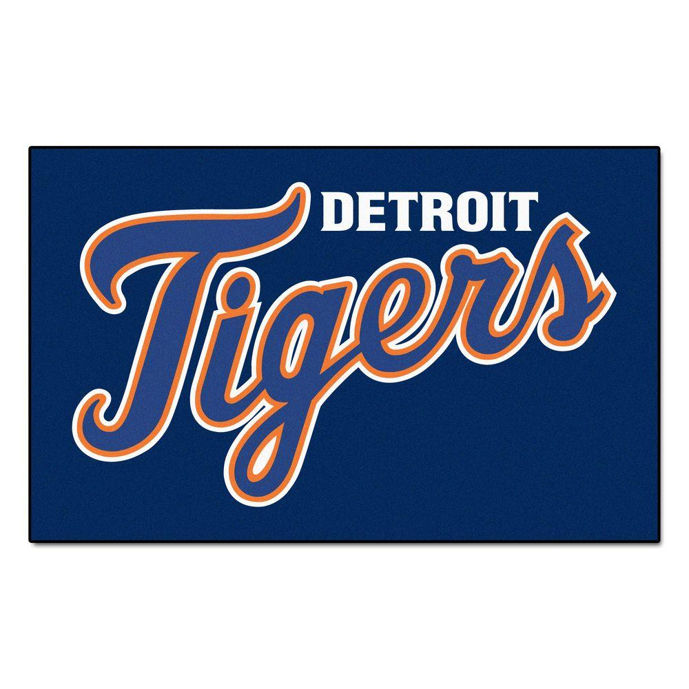 Detroit Tigers 5 ft. x 8 ft. Ulti-Mat