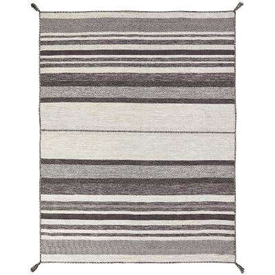 Andes Canyon Graphite 10 ft. x 13 ft. Area Rug