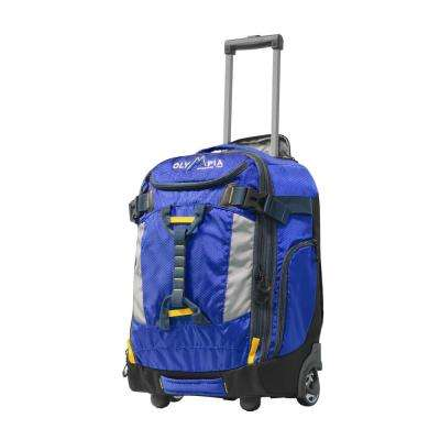 CASCADE 20 in. Outdoor Upright Carry-On with Hideaway Backpack Straps
